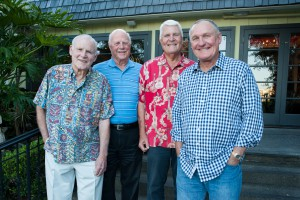 Greg Nelson,Terry Lingenfelder, Doug Hall and Doug Allred.