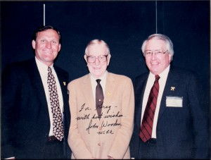 Greg Nelson, John Wooden and Jack Blair